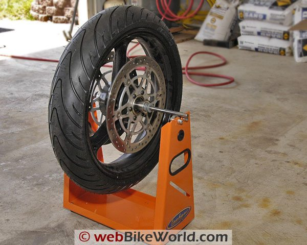 Tachyon Motorcycle Wheel and Tire Balancer