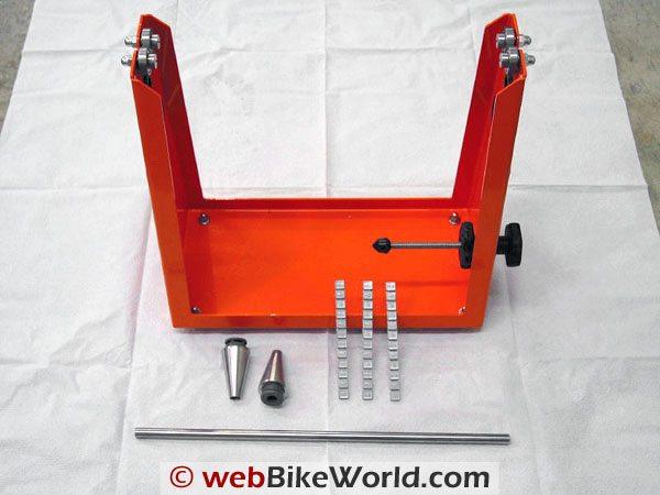 Tachyon Motorcycle Wheel and Tire Balancer - Elite 1 Kit