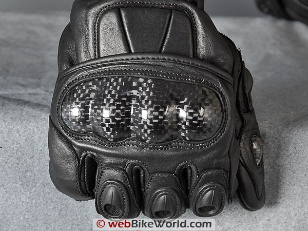 Akuma Street Fighter Gloves - Knuckle Protector