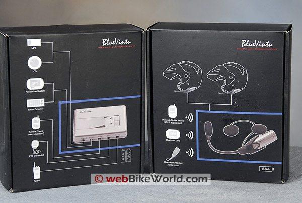 Blu Virtu BAT-01 and BSH-01 Boxes