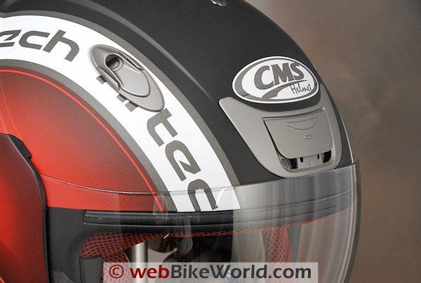 CMS D-Jet Helmet - Vents