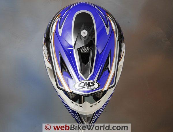 CMS XR-7 Motocross Helmet - Top