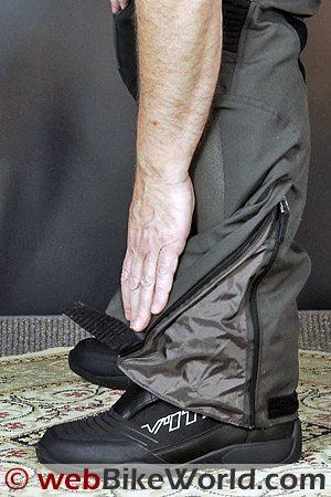Rev'it Cayenne Pro Pants - Leg Cuff and Zipper