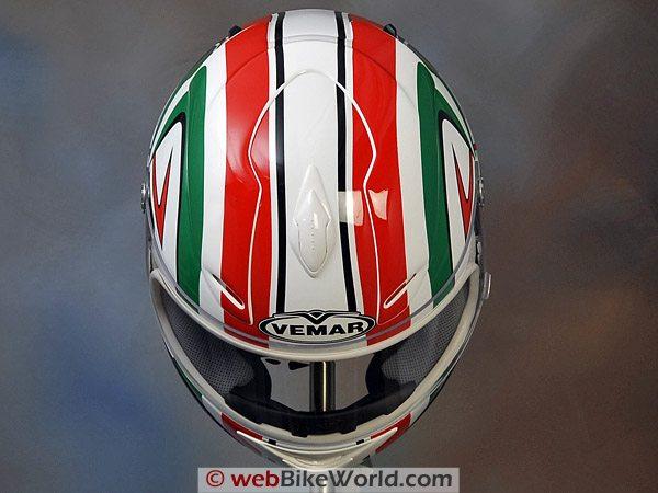 Vemar VSREV Helmet - Top