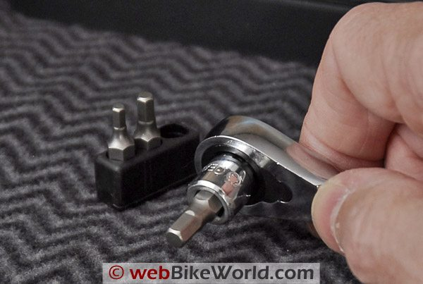 GearRatchet Socket Set - With bit driver