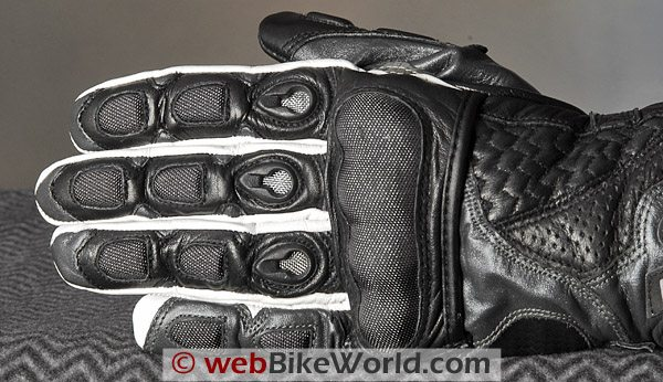 M-Tech Racer Gloves - Top