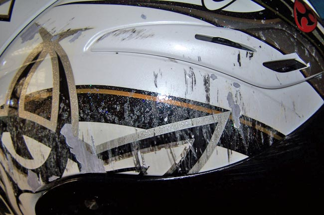 OGK FF-5 Damage