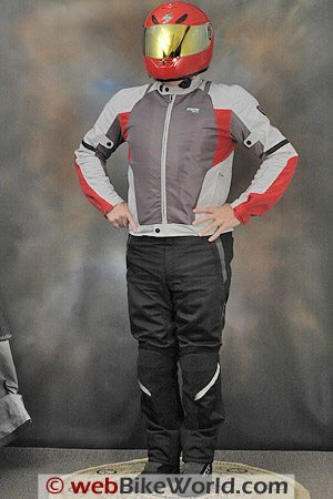 Rev'it Air Jacket and Mistral Pants - Front