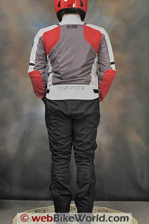 Rev'it Air Jacket and Mistral Pants - Rear