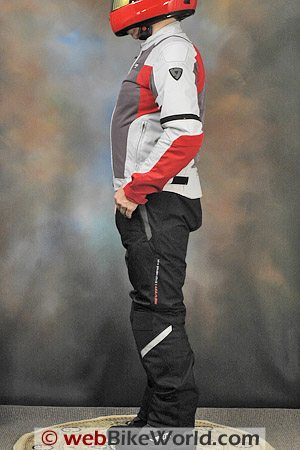 Rev'it Air Jacket and Mistral Pants - Side