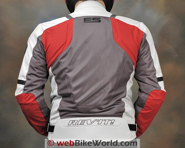 Rev'it Air Jacket - Rear