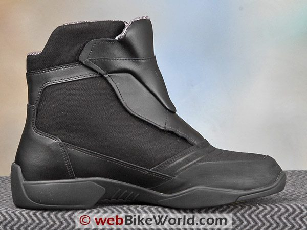 Rev'it Fighter Boots - Inside Ankle View