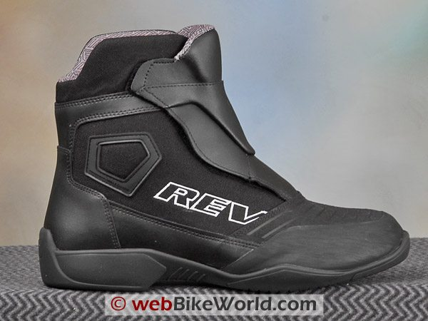 Rev'it Fighter Boots - Outside Ankle View