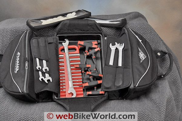 Stealth Workshop Utility Bag With Tools