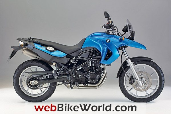2009 BMW F 650 GS in Azure Blue Metallic