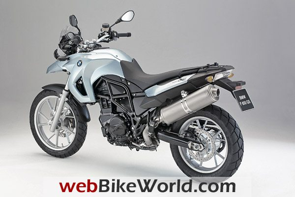 2009 BMW F 650 GS - Left Rear