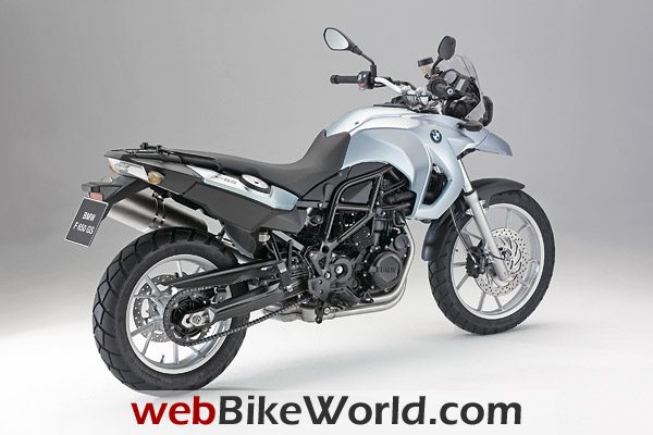 2009 BMW F 650 GS - Right Rear
