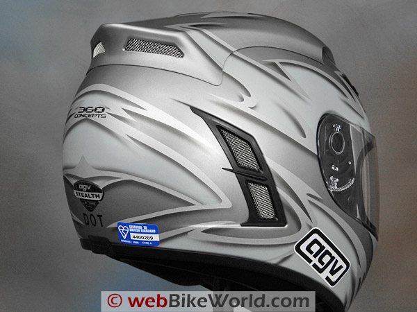 AGV Stealth - Exhaust Vents