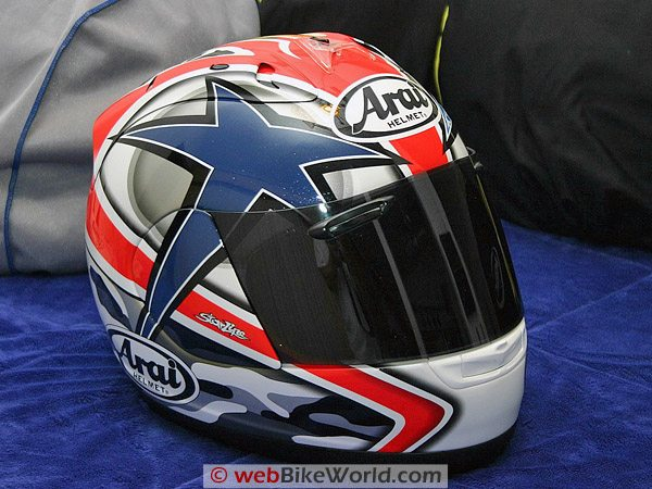 Arai RX-7 - Side View
