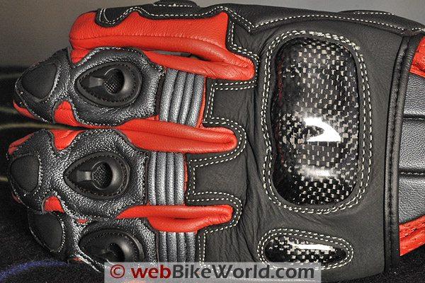 BMG Rapido Gloves - Back Side
