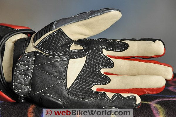 BMG Rapido Gloves - Palm View