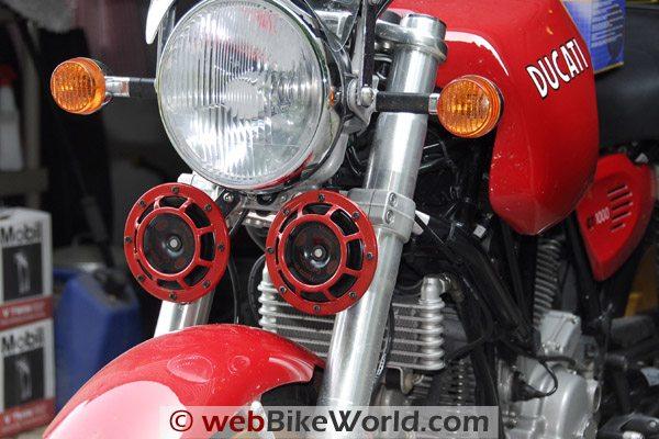 Hella Supertone - Ducati GT1000