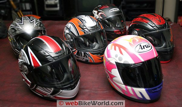 My Motorcycle Helmet Collection