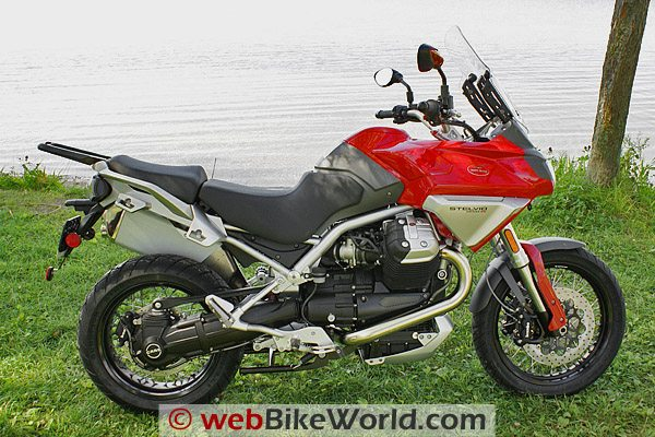 Moto Guzzi Stelvio - Right Side