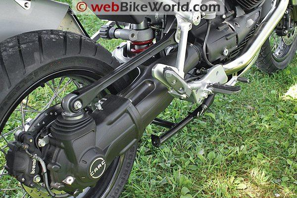 Moto Guzzi Stelvio - Shaft Drive
