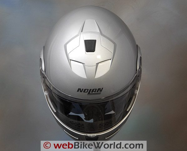 Nolan N103 Helmet - Top View