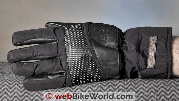 Roadgear H20-Tec Gloves - Back of Hand