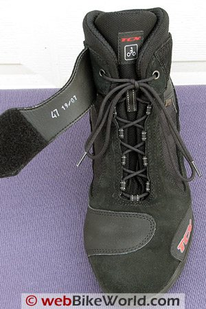 TCX Jupiter 2 XCR Boots - Front and Laces