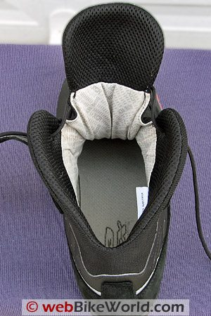 TCX Jupiter 2 XCR Boots - Inside