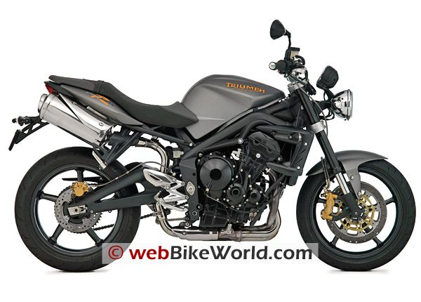 2009 Triumph Speed Triple R