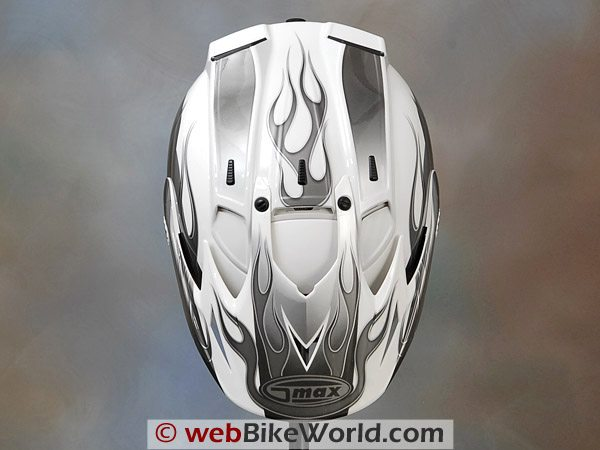 GMAX GM 27 S Helmet - Top View