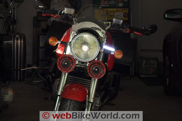 PIAA LED Lights - Ducati GT1000