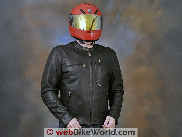 British Motorcycle Gear BMG Montana Jacket - Front