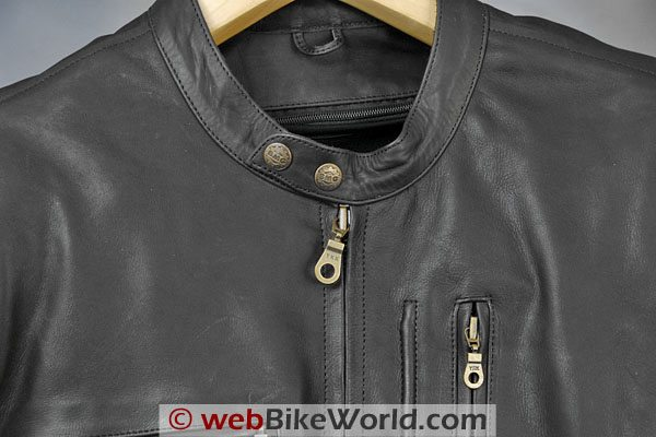 British Motorcycle Gear BMG Montana Jacket - Collar