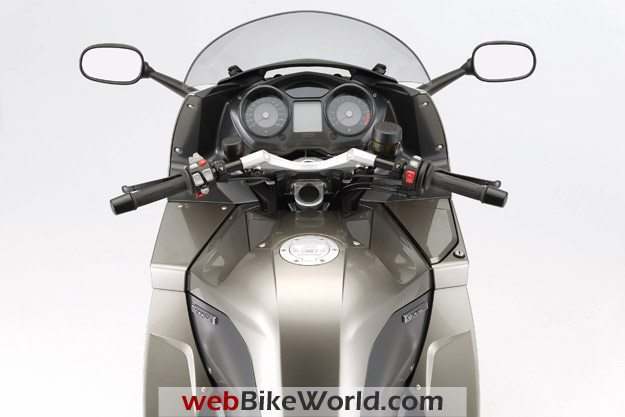BMW K 1300 GT Dashboard and Instruments