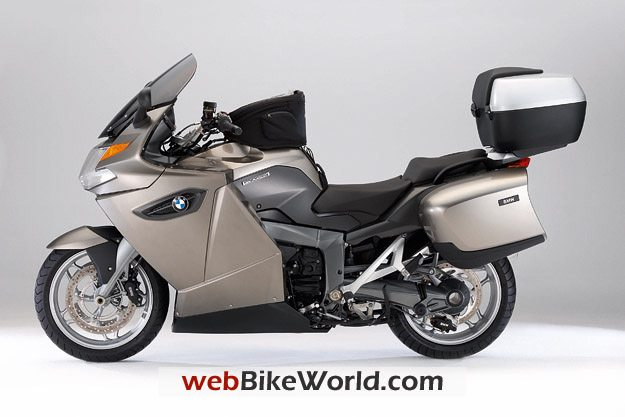 BMW K 1300 GT With Luggage