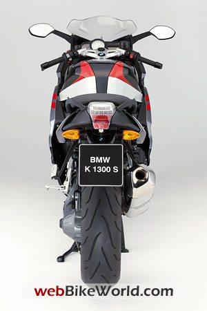 BMW K1300S Rear