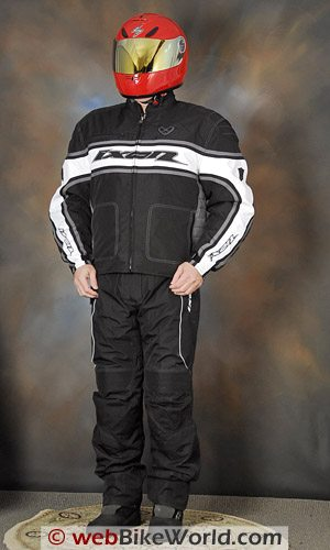 Ixon Courageous Jacket and Climber Pants - Front View
