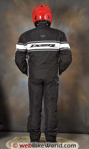 Ixon Courageous Jacket and Climber Pants - Rear