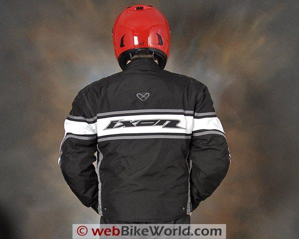 Ixon Courageous Jacket - Rear View