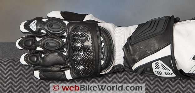 Ixon RS King Motorcycle Gloves - Top Side