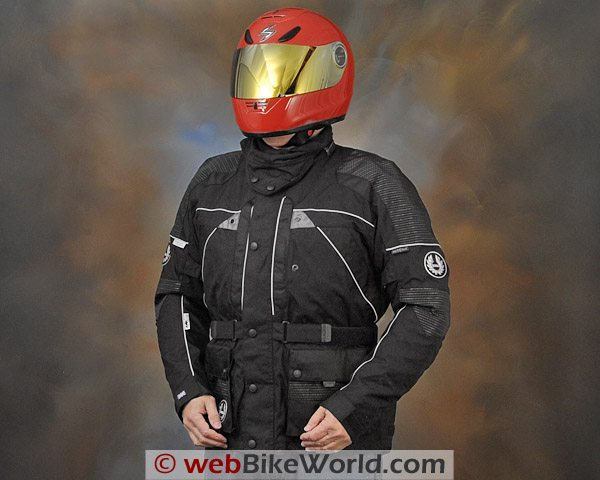 British Motorcycle Gear BMG Discovery Jacket - Front View