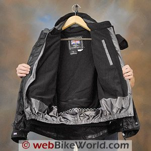 British Motorcycle Gear BMG Discovery Jacket - Insulating Liner