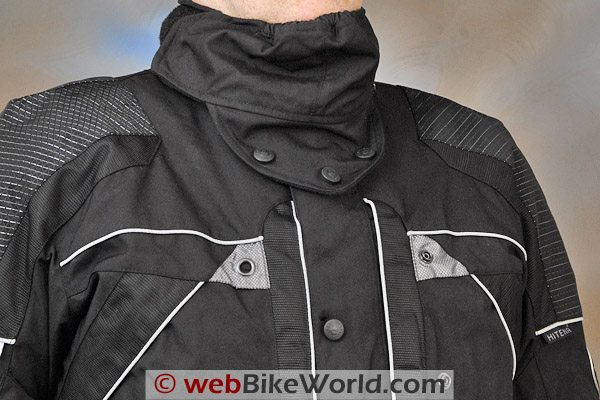 British Motorcycle Gear BMG Discovery Jacket - Neck Warmer