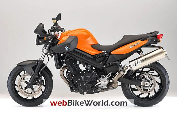 BMW F800R - Orange Color, Left Side