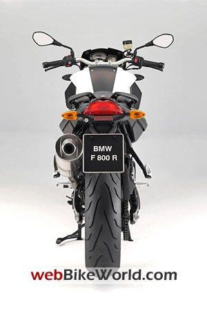 BMW F800R - Rear